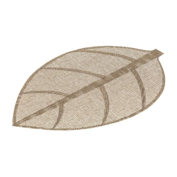 Suport pentru farfurie Unimasa Leaves, 50 x 33 cm, maro