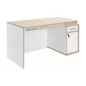 Bílý pracovní stůl Dynamic Study Desk