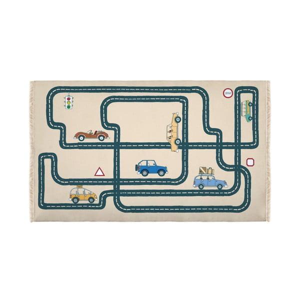 Dětský koberec Little Nice Things Roads, 195x135cm