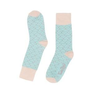 Barevné ponožky Funky Steps Foxy, velikost 35 – 39
