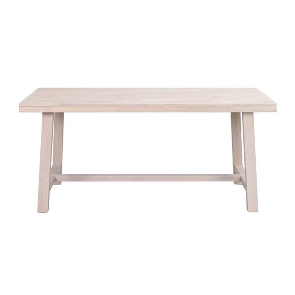 Matně lakovaný dubový jídelní stůl Folke Brooklyn