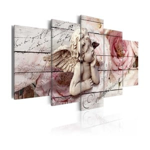 Vícedílný obraz na plátně Bimago Cherubic, 100x200cm