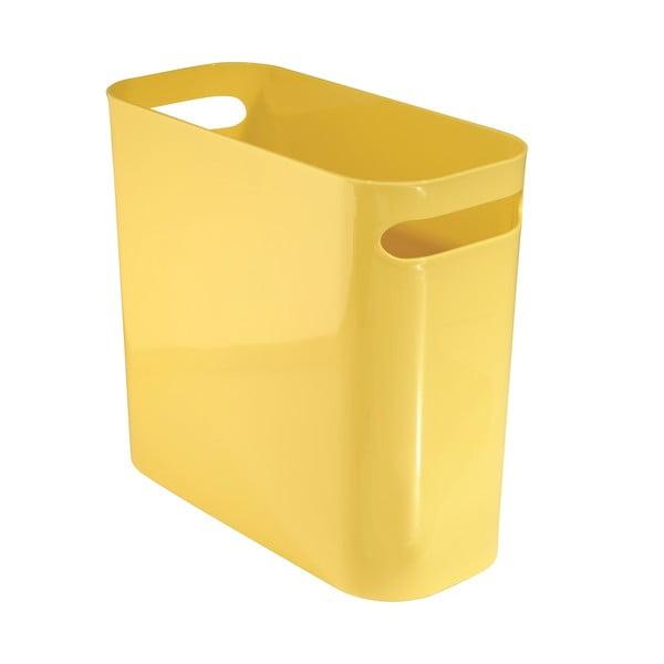 Úložný koš Una Yellow, 12x27 cm