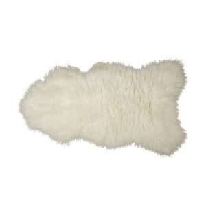 Pravá ovčí kůže s dlouhým vlasem, 110x80 cm