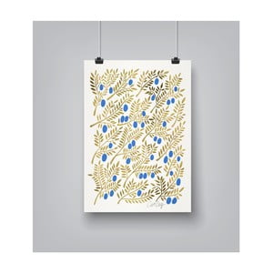 Poster Americanflat Olive Branches, 30 x 42 cm