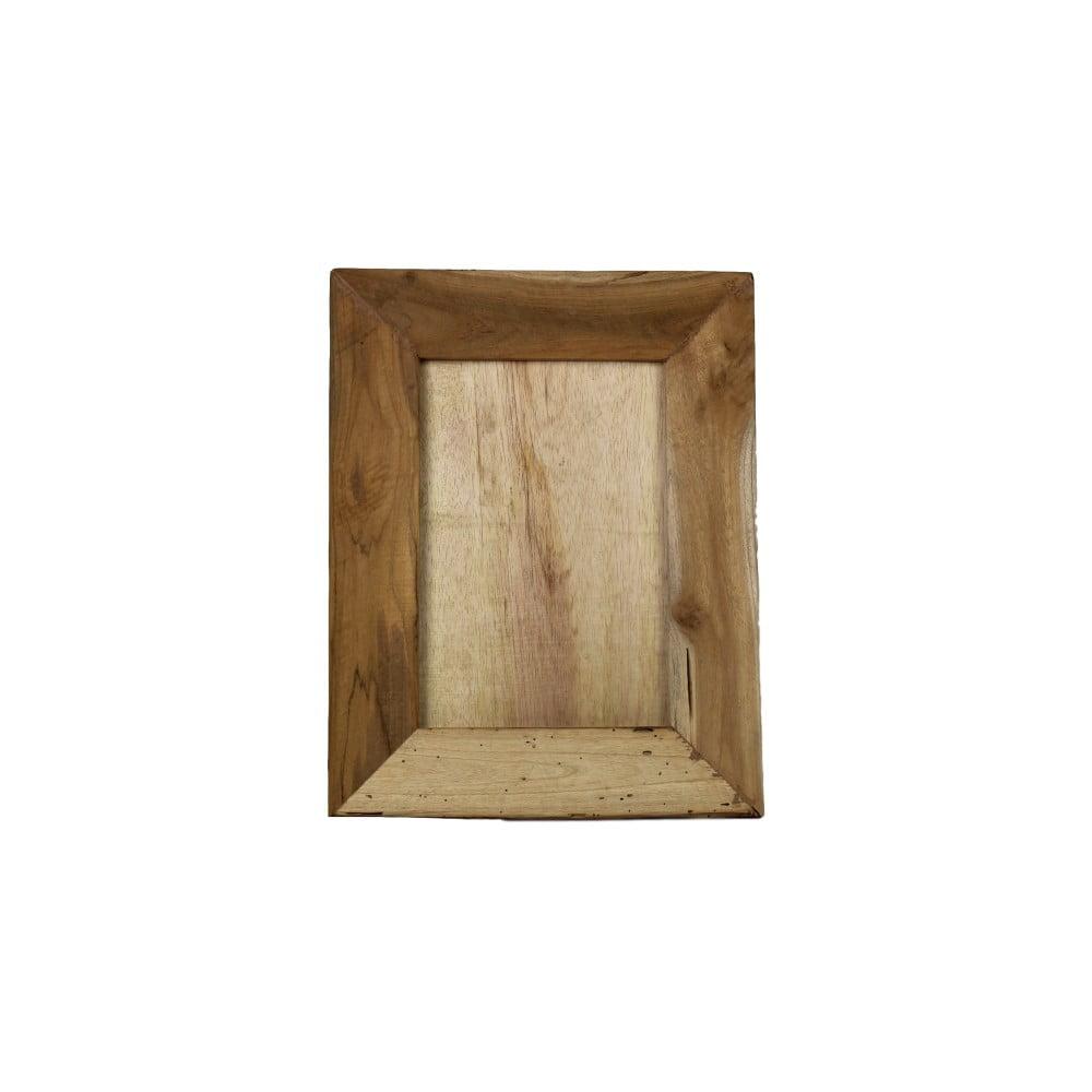 Rámeček na fotografie z teakového dřeva HSM Collection Pigura, 35 x 45 cm