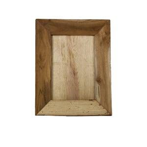 Rámeček na fotografie z teakového dřeva HSM Collection Pigura, 35x45cm