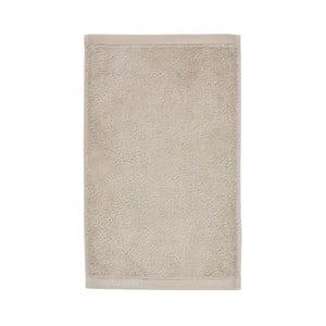 Béžový ručník z egyptské bavlny Aquanova London, 30x50cm