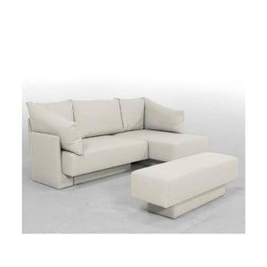 Canapea modulară Feydom Choice, alb