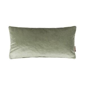 Zelený polštář Dutchbone Spencer, 60x30cm