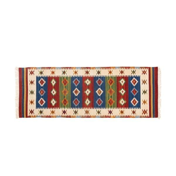 Ručně tkaný koberec Kilim Dalush 608, 250x80 cm