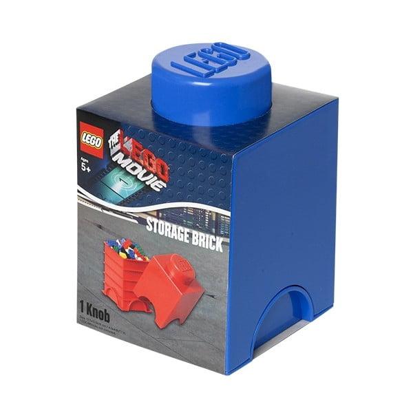 Úložný boxík Lego Movie, modrý