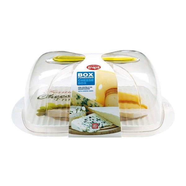 Dóza na sýry s nožem Snips Cheese