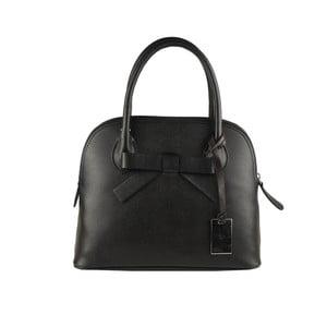 Černá kožená kabelka Matilde Costa Puebla