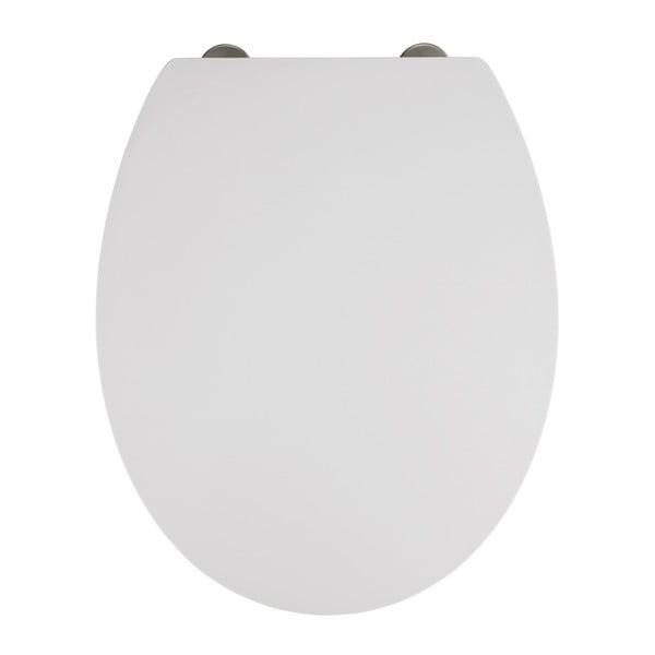 Mora fehér WC-ülőke, 44,5 x 37 cm - Wenko