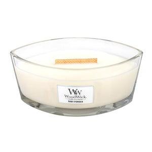 Svíčka s vůní vanilky, medu a růže WoodWick Dětský pudr, dobahoření50hodin