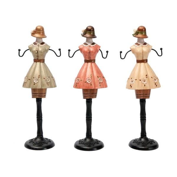 Sada 3 dekorativních figurek Antic Line Ladies