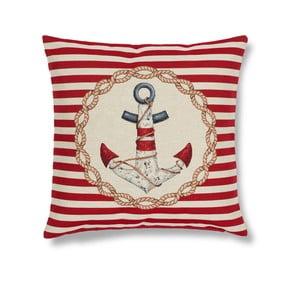 Povlak na polštář Maritim Anchor Red, 45x45cm