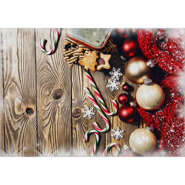 Covor Vitaus Christmas Period Tree Deco, 50 x 80 cm
