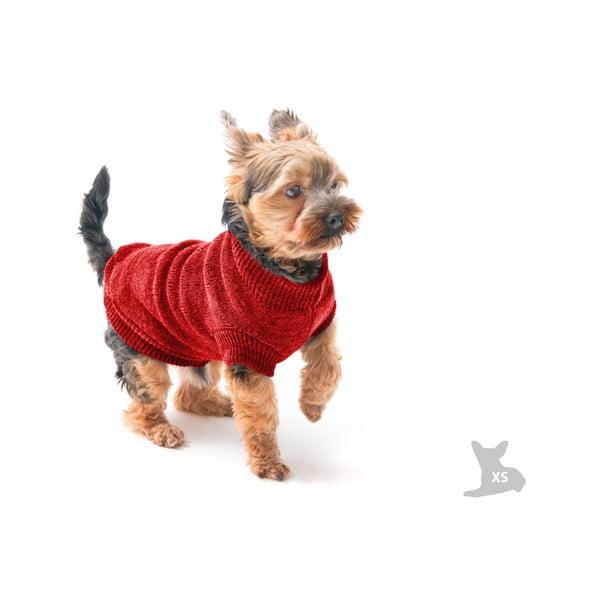 Červený svetřík pro psy Marendog Trip, vel. XS