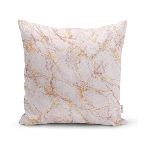 Față de pernă Minimalist Cushion Covers Soft Marble, 45 x 45 cm