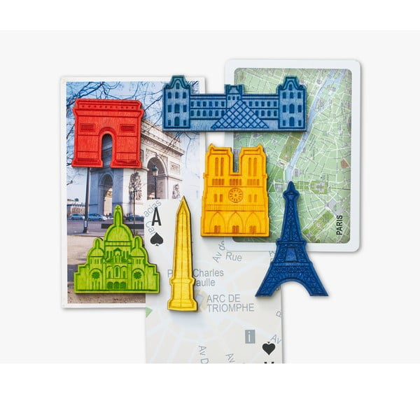 Sada 6 magnetů Design Ideas Landmark Paris
