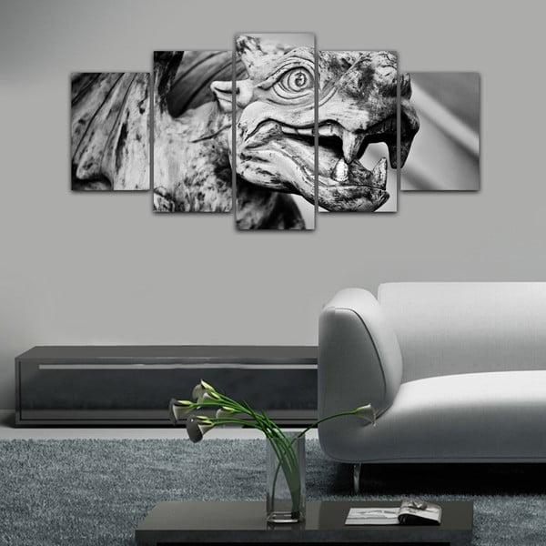 Vícedílný obraz Black&White no. 27, 100x50 cm