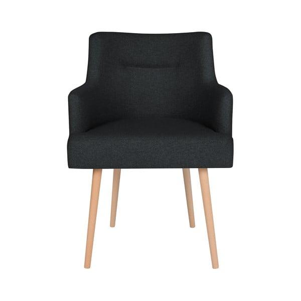Czarne krzesło do jadalni Cosmopolitan Design Venice