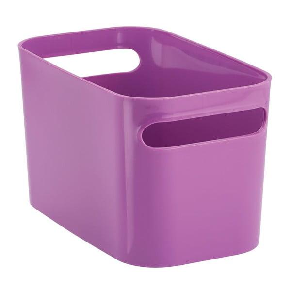 Úložný koš Una Purple, 25,5x15x15 cm