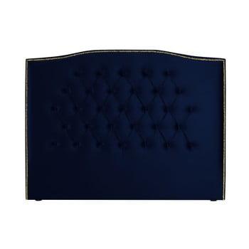 Tăblie pentru pat Mazzini Sofas Daisy, 140 x 120 cm, albastru nautic de la Mazzini Sofas
