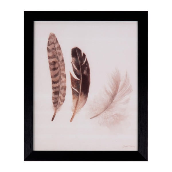 Tablou Sømcasa Feathers, 25 x 30 cm