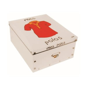 Krabice na polo trička Incidence Mes Polos