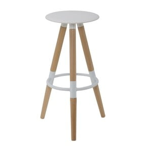 Barová židle z bukového dřeva Mauro Ferretti Beach