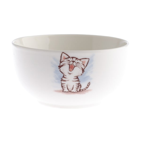 Porcelánová miska Dakls Happy Cat