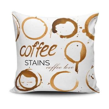 Pernă Coffee Stains, 45 x 45 cm