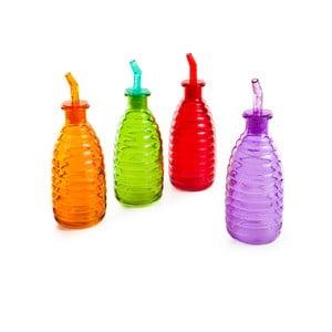 Sada 4 barevných lahví Mezzo