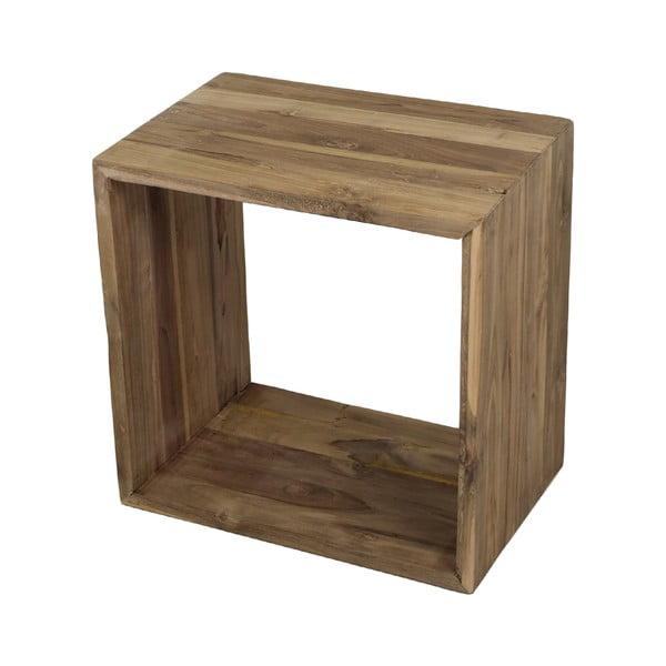 Cube rakodóasztal teakfából - HMS collection