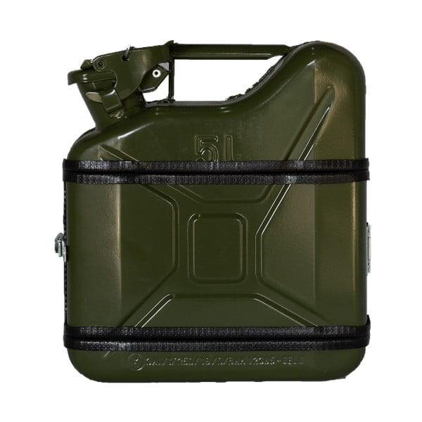 Zelený dárkový kanystr Designed By Man, 5l