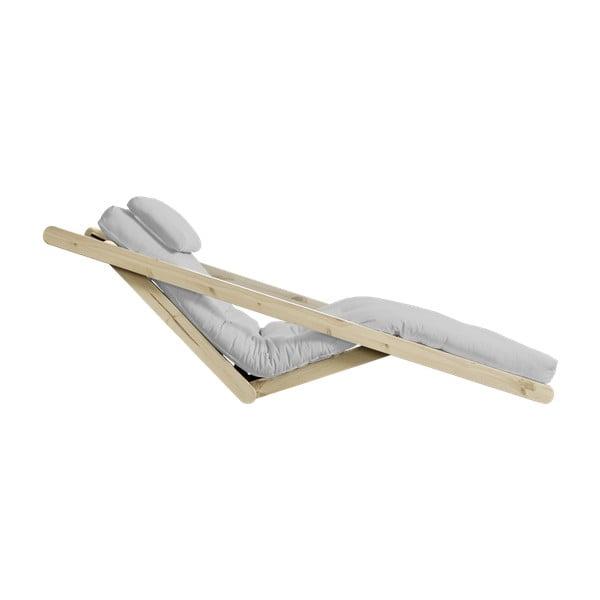 Variabilní lenoška Karup Figo Raw/Light Grey