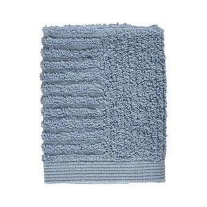 Modrý ručník ze 100% bavlny na obličej Zone Classic Blue Fog, 30x30cm