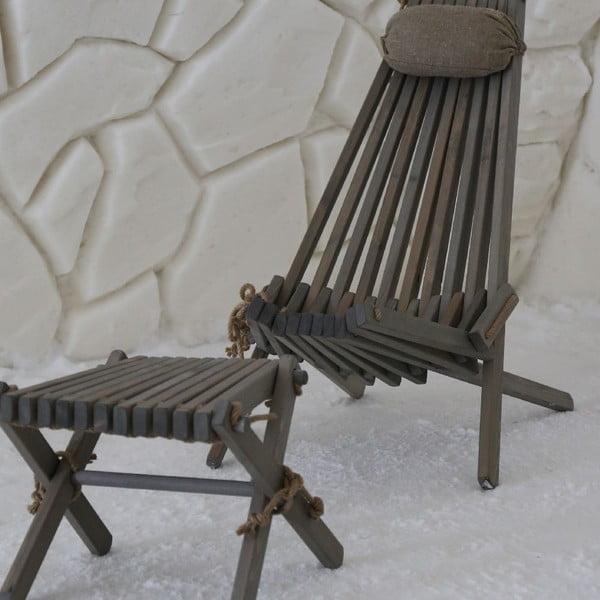 Stolička Lilli, bílá bříza