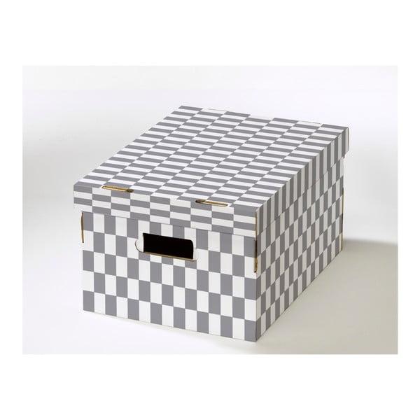 Cutie depozitare din carton ondulat Compactor Lenny, 40 x 31 x 21 cm