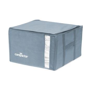Cutie de depozitare cu vid pentru haine Compactor Blue Edition, 125 l imagine