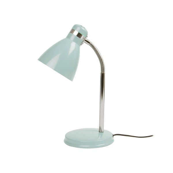 Modrá stolní lampa Leitmotiv Study