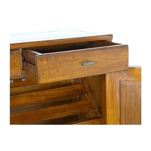 Botník ze dřeva mindi s 2 zásuvkami SantiagoPons Lily