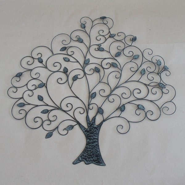 Decorațiune metalică de perete Dakls Tree