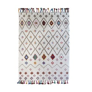 Ručně vyráběný koberec The Rug Republic Carmona Ivory, 160 x 230 cm