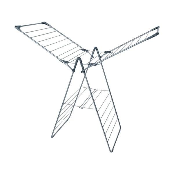 13,5M Large X Wing Airer Graphite Metallic ruhaszárító állvány - Addis