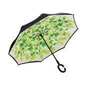 Umbrelă Ambiance Leaves, ⌀ 105 cm, verde