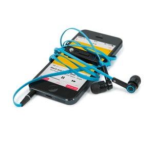Hi-Earphones Sluchátka s mikrofonem, modrá